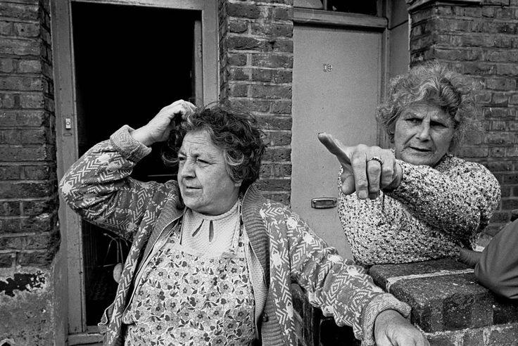 Doorstep conversation, Brent | Nick Hedges 1969...the days of talking over the garden fence...sadly gone.