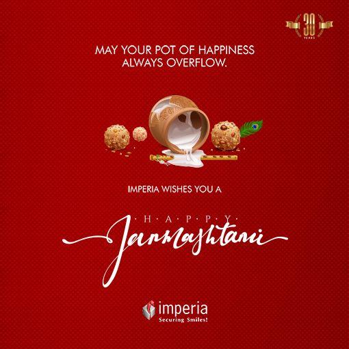 Imperia Wishes You a #HappyJanmashtami #ImperiaStructures