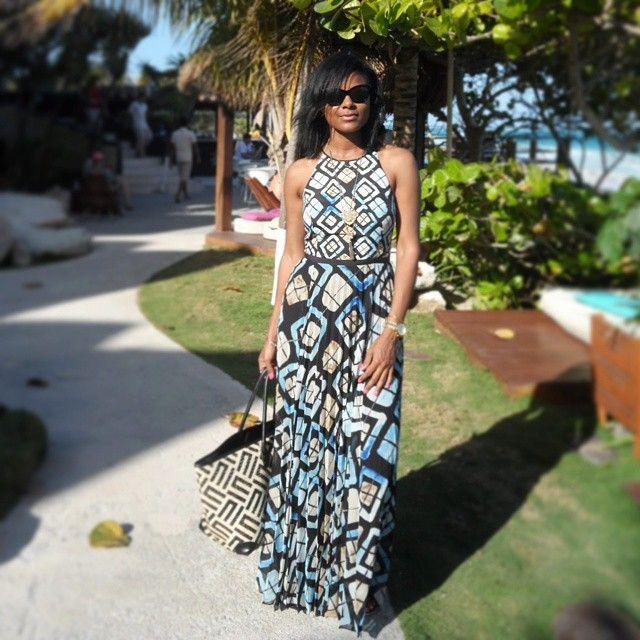 Marisol maxi dress anthropologie myanthrophoto for Anthropologie mural maxi dress