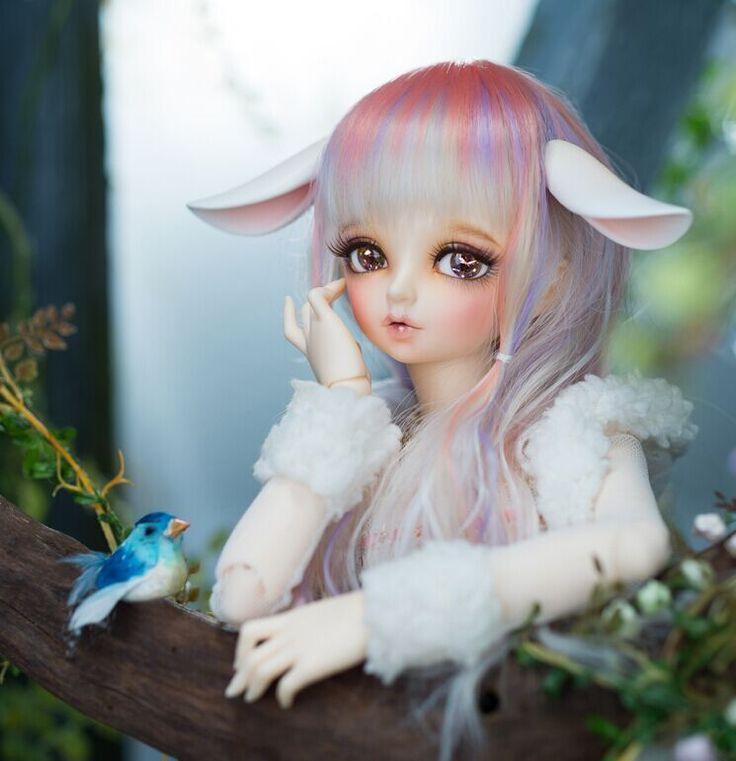 OUENEIFS сказочного minifee RIN BJD SD 1/4 модели тела возрождается новорожденными девочками мальчики куклы глаза высокого качества игрушек магазин составляют смолы