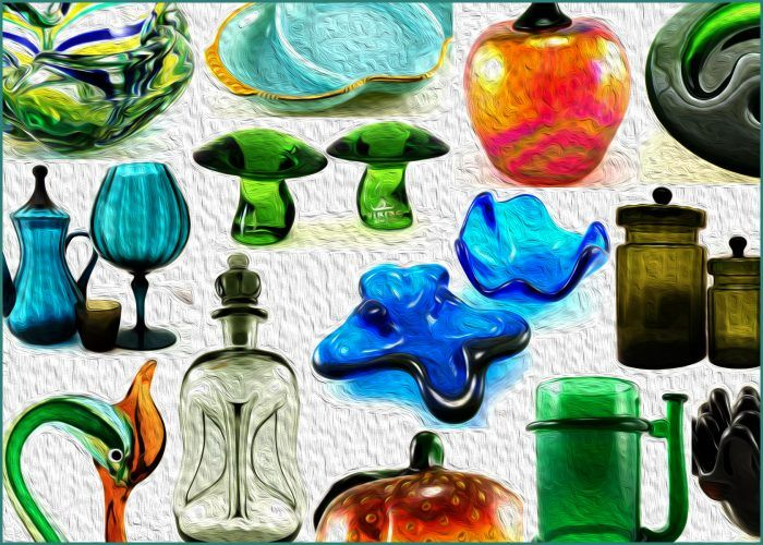 Vintage Glassware And Art Glass View All Glass In The Retro Art Glass Catalog Choose From Hundreds Of Authentic Antique Retro Art Vintage Glassware Glass Art