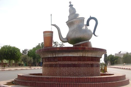 Rond-point en Algérie