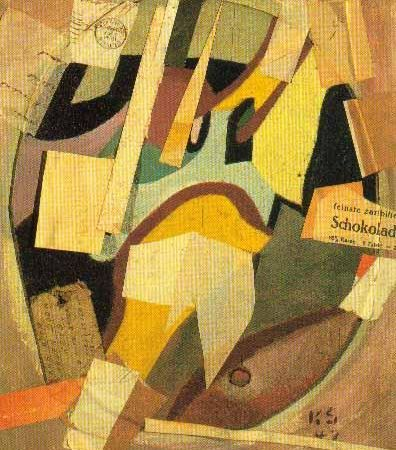 Kurt Schwitters Collage/found objects: Assembly