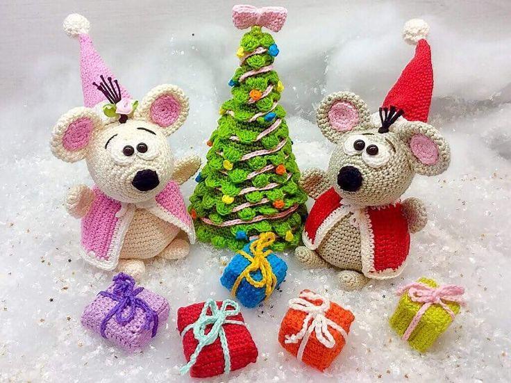 Easy Christmas Amigurumi : 401 best amigurumi christmas winter images on pinterest