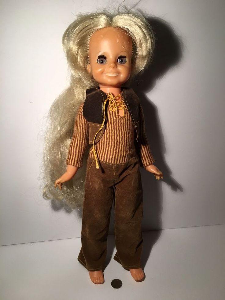 Vintage Ideal Velvet Doll Crissy's Cousin #IDEAL