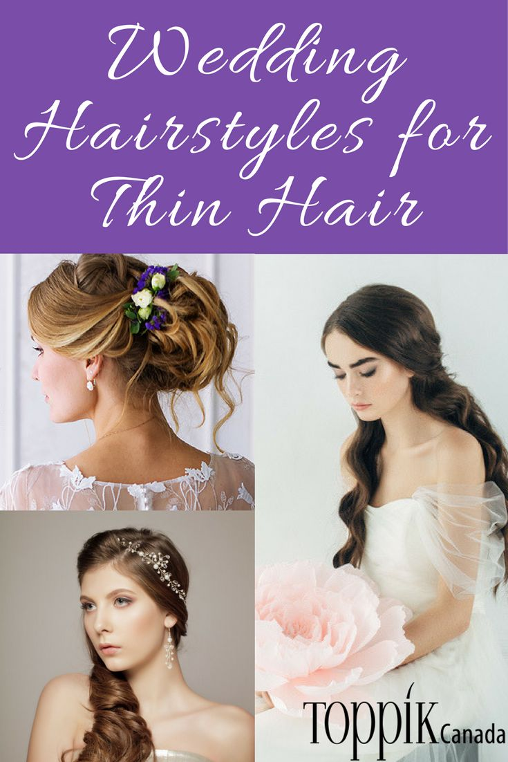 Your hair completes your wedding day look. But if your hair is fine or thin, you may be worried about looking your best. Not to worry – we have you covered! These wedding day hairstyles would look great on anyone, but they work especially well for women with fine or thinning hair. Whether you're styling your hair yourself or having it done by a professional, we hope that these styles serve as inspiration for your big day.  Read more...