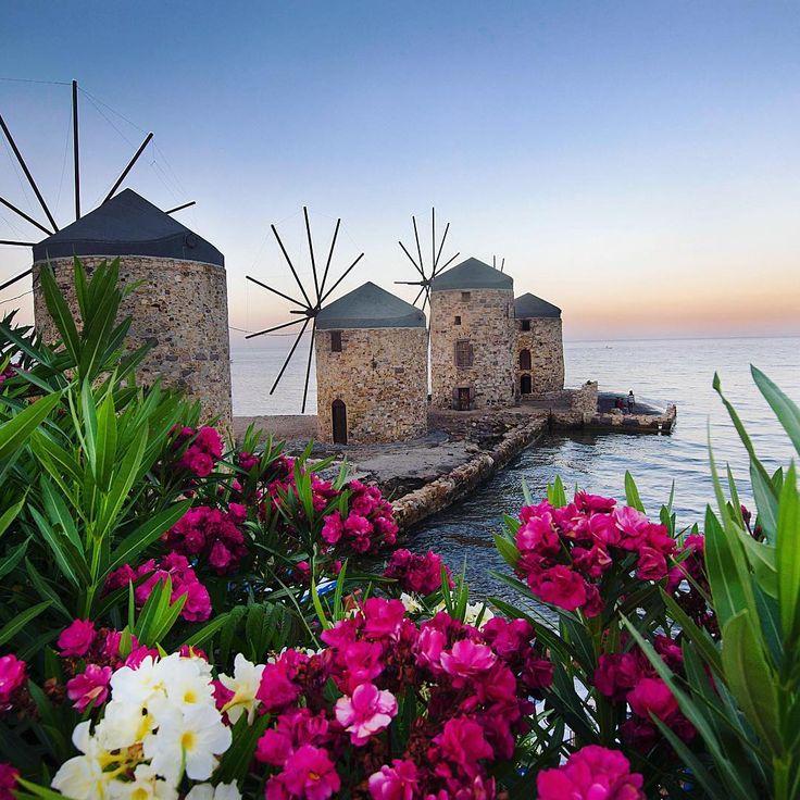 Chios Island, Greece // by Bihter Tekin ( bihterelis )  #sakizadasi #greece