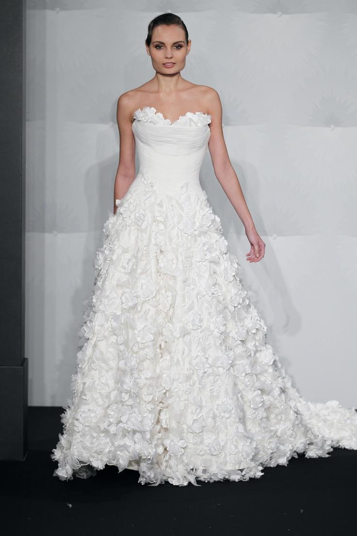 Lisa robertson in wedding dress - Inspired By Mark Zunino 2013 Collection Wedding Dress