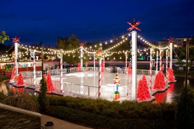 When LA Freezes Over: Ice Skating in the Sun with These Outdoor Ice Rinks in LA