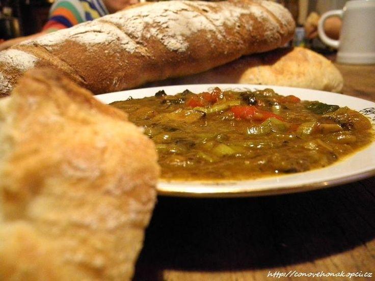 Trochu jiná smaženice - curry