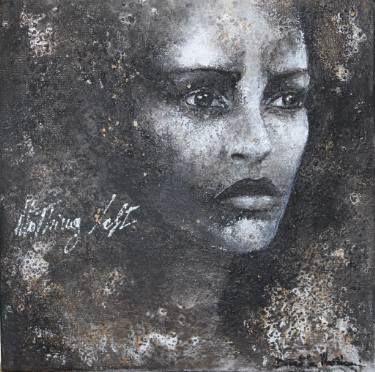 "Saatchi Art Artist Donatella Marraoni; Painting, ""Nothing left"" #art"