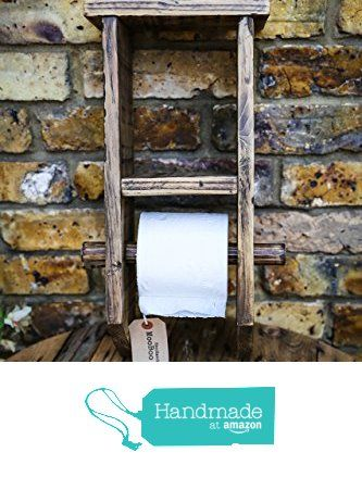 Reclaimed Wood Toilet Roll Caddy by MooBoo Home from MooBoo Home https://www.amazon.co.uk/dp/B01M13DZBP/ref=hnd_sw_r_pi_dp_zJTmybYZ7QN4G #handmadeatamazon
