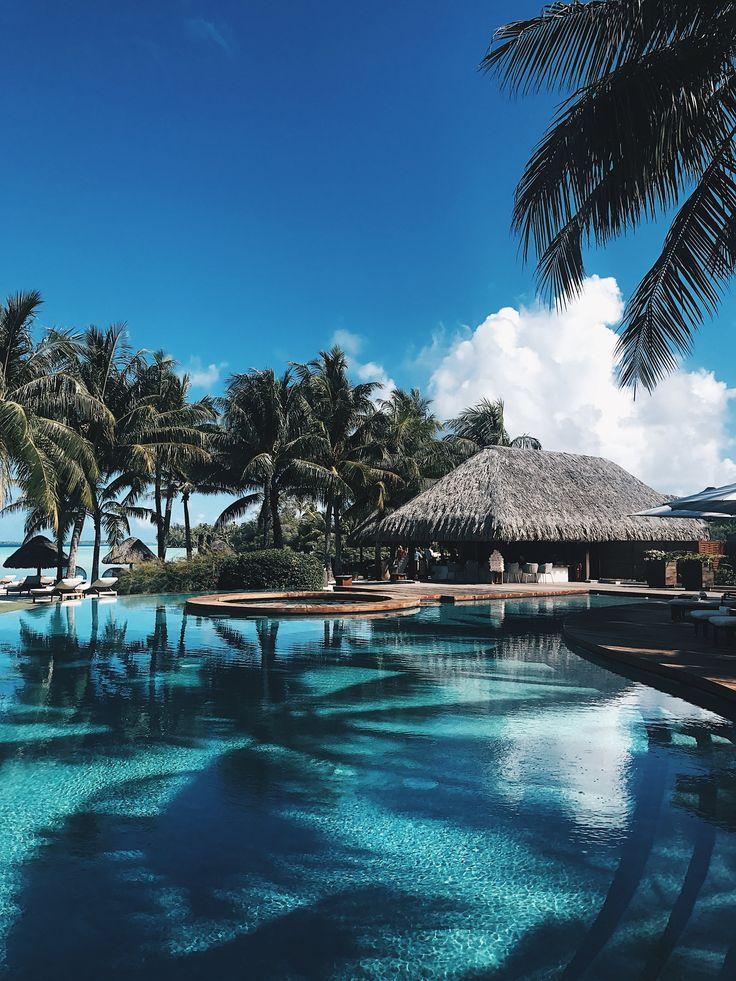 Bora Bora, voyage, océan, bungalows sur pilotis, liste de seaux, photographie, jessakae, f