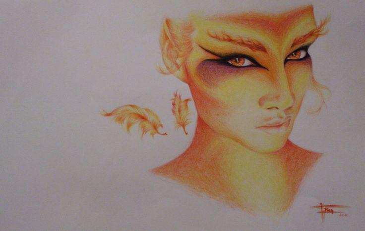 Phoenix (maybe..) by DarwiO