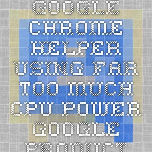 how to stop google chrome helper on mac
