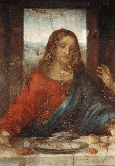 Leonardo da Vinci (1452-1519) - The Last Supper detail
