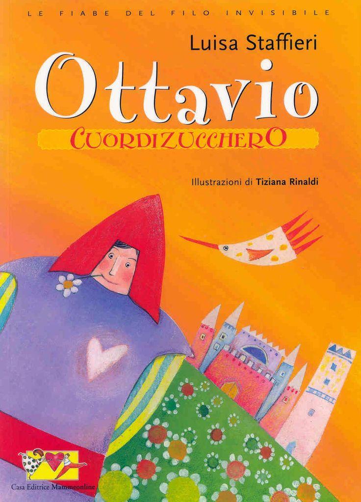 Ottavio Cuordizucchero - book cover by Tiziana Rinaldi