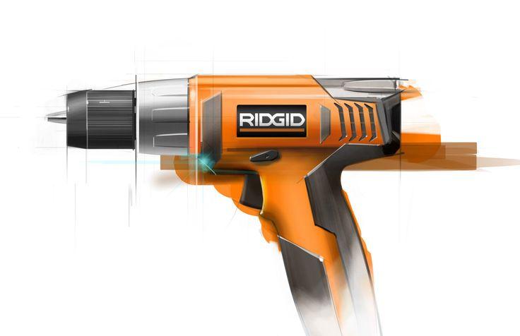 Ridgid Drill Sketch