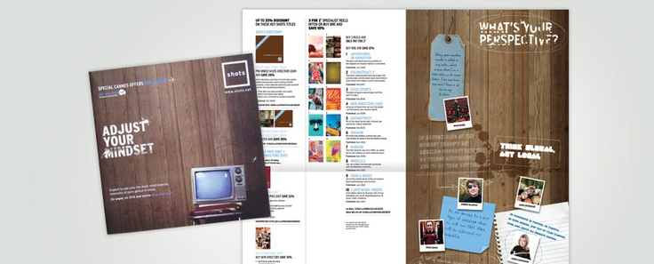 shots magazine (Emap, UK) catalogue for Cannes Lions