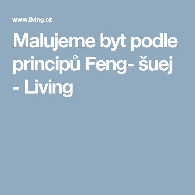 Malujeme byt podle principů Feng- šuej - Living