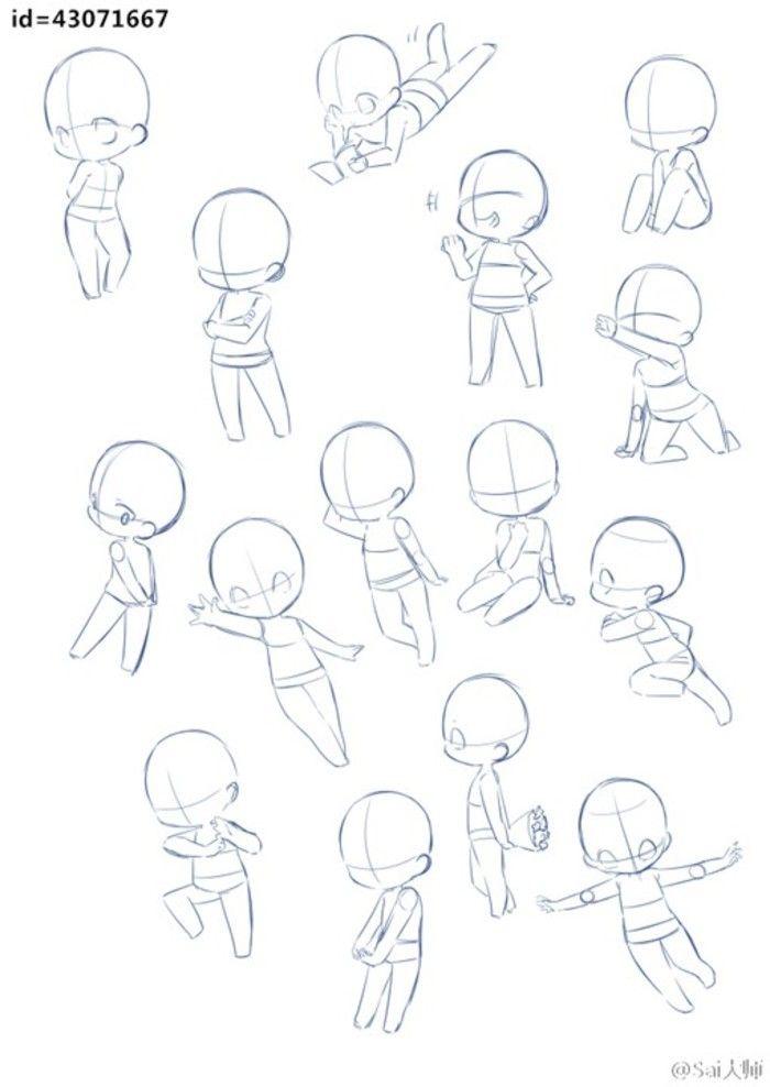how to draw manga chibi