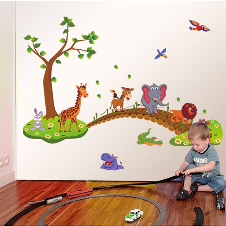Cheap decal, Buy Quality animal bank directly from China decals auto Suppliers: Material:PVCSize: 90*140cmWeight : Around 200g each pieceUsage: Zoo Animal Wall Sticke