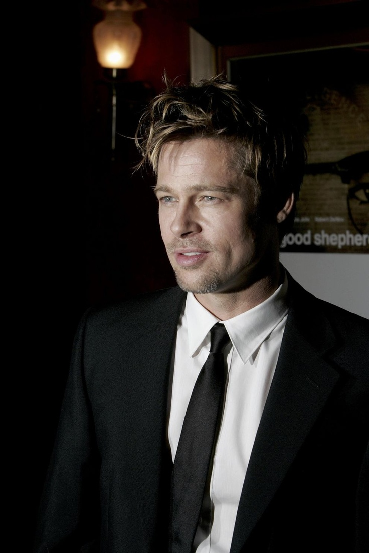 Brad Pitt. What can one really say? Just still beautiful.