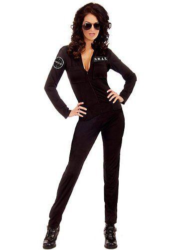 Halloween, Halloween Costumes Women, Halloween Costumes diy, Halloween Costumes,  Halloween Costumes Adult--Sexy SWAT--