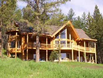 Find This Pin And More On House By Dawneli123. Daylight Basement Log Home  Plans