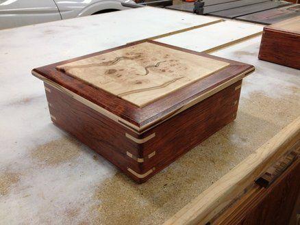 Ambrosia Babinga Box - by Bobsboxes @ LumberJocks.com ~ woodworking community