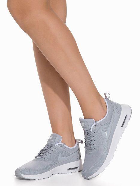 Air Max Thea Print - Nike - Metallic Silver - Hverdagssko - Sko - Kvinne - Nelly.com