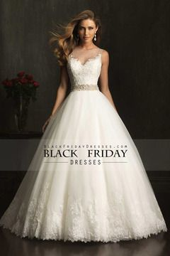 2014 vestido de novia de encaje Bateau blusa con cuentas cintura Pisk Hasta la falda de Tulle $ 319.99 BFPFFCGFYP - BlackFridayDresses.com
