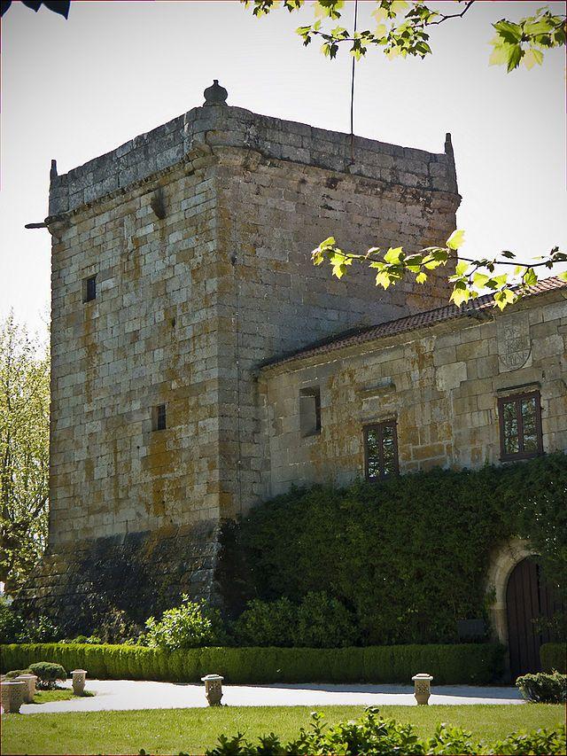 La Coruña Torre do Pazo de Xunqueiras - A Pobra do Caramiñal