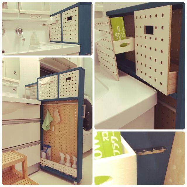 デッドスペースを有効活用!バスルーム隙間収納アイディア | RoomClip mag | 暮らしとインテリアのwebマガジン