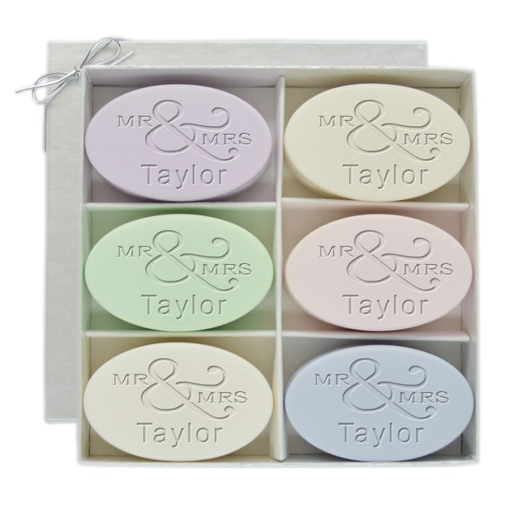 Signature Spa Mr. & Mrs. Soap Gift Set
