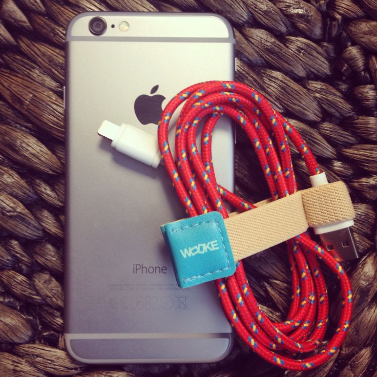 #chargeoriginal USB charging cable from www.wooke.co.uk