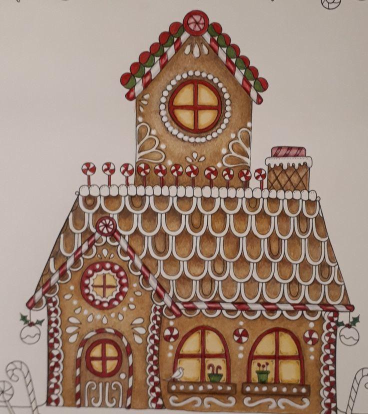 Johanna Basford/ Christmas/picture by Gyöngyi Varga.
