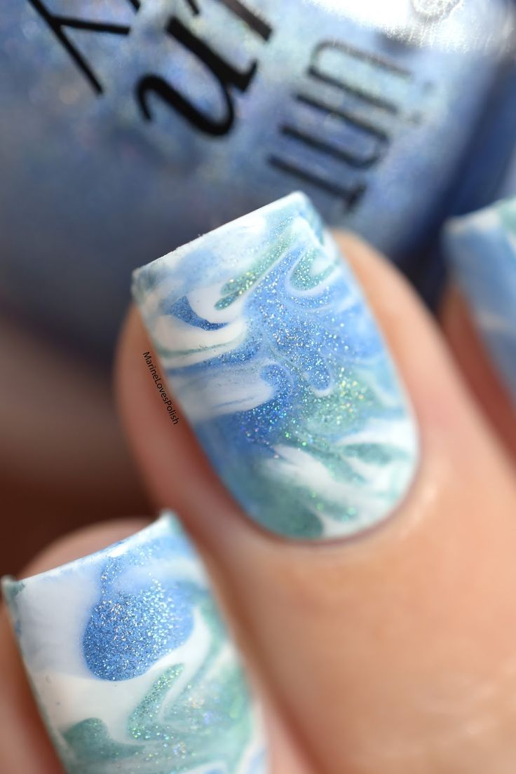 11 best Marble Nail Art images on Pinterest | Marble nail art, Nail ...