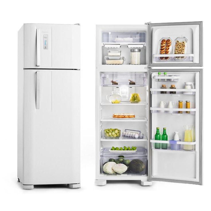 Geladeira/Refrigerador Electrolux DF36A 310 litros 2 portas Frost Free Branco - Electrolux com o melhor preço é no Walmart!