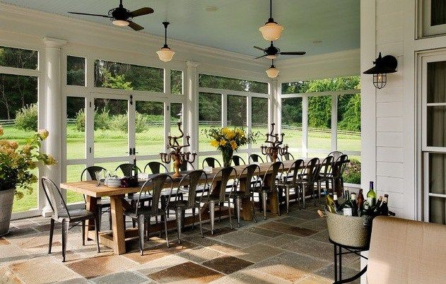 Extra Super Long Dining Room Table. Something like this with my chairs I have now