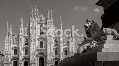 Milan: Dome Royalty Free Stock Photo