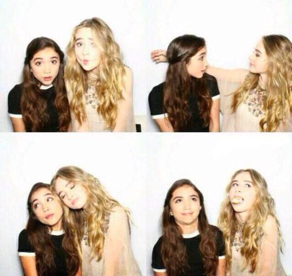 Rowan Blanchard and Sabrina Carpenter