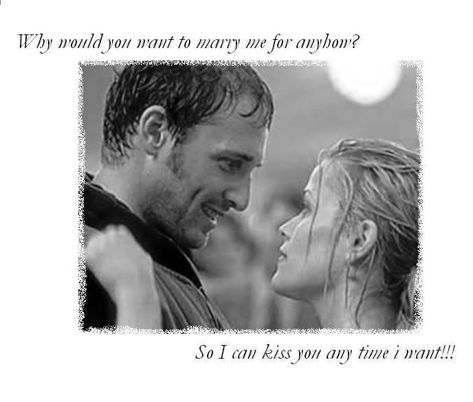One of the cutest movies ever....sweet home alabama  @Shelby Woodall