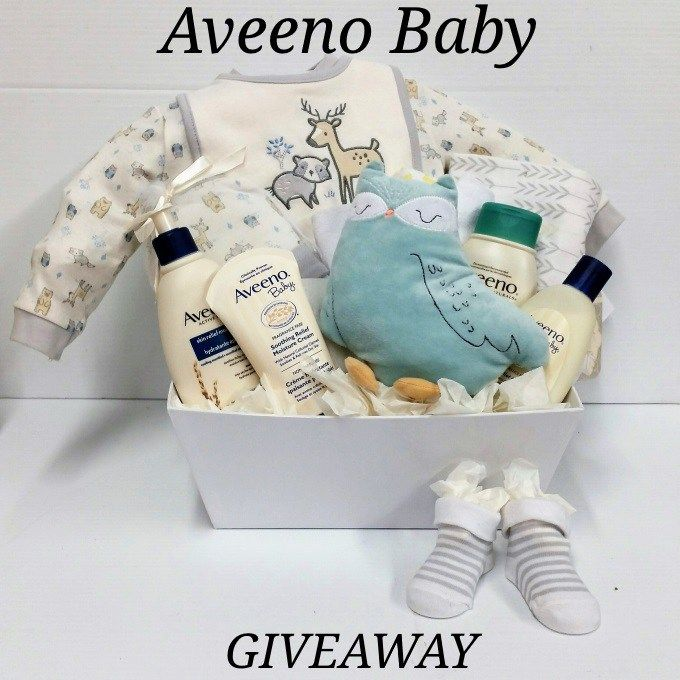 AVEENO BABY SOOTHE AND RELIEF BASKET GIVEAWAY