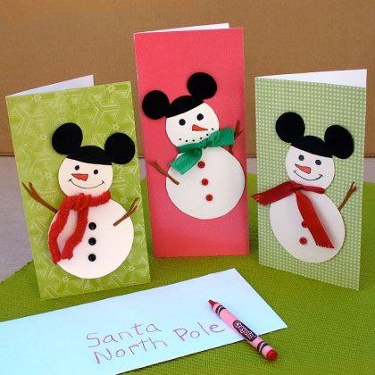 mams creativas tarjetas de navidad diy