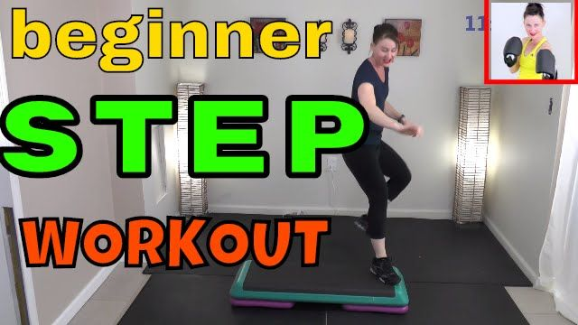 Low Impact STEP ,Aerobics Workout for Weight LOSS, Beginner Step Routine...