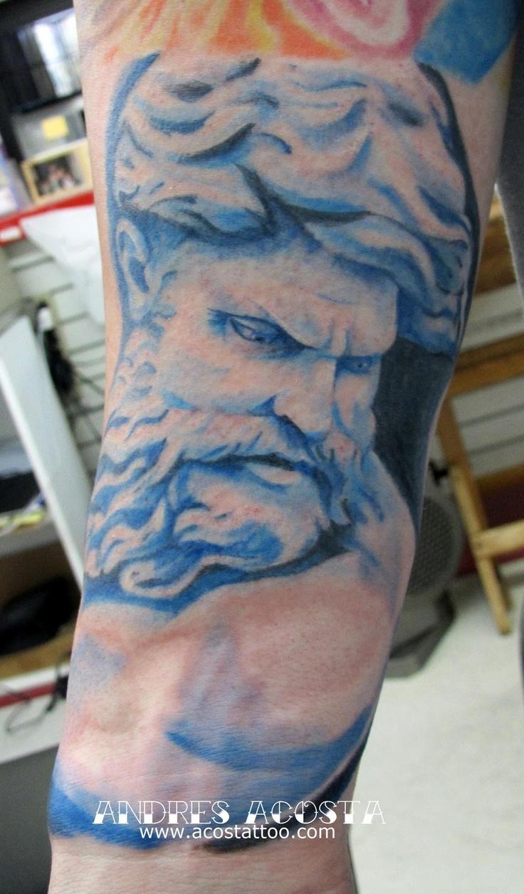 Nautical Tattoo Poseidon And Ship: 88 Best Nautical Tattoo Inspiration Images On Pinterest