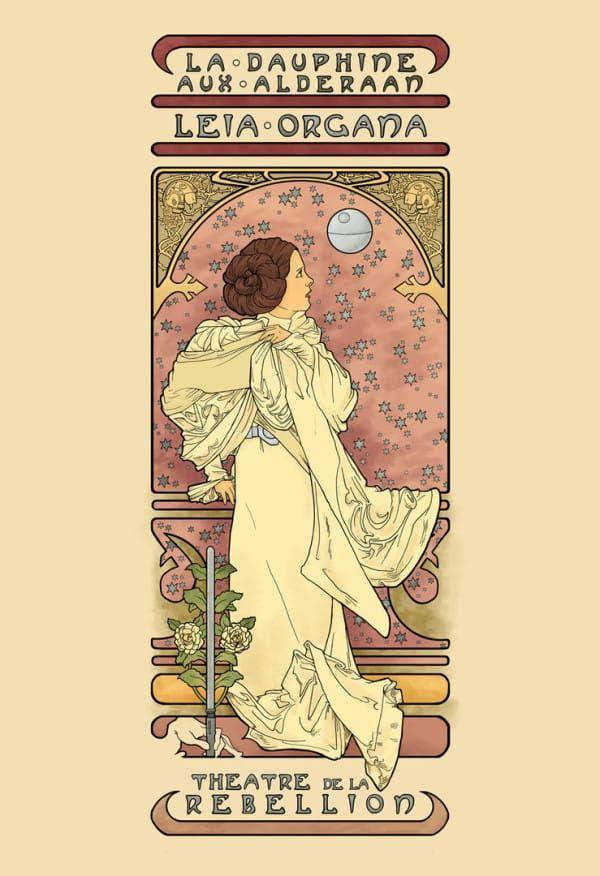 A popkultúra karakterei art nouveau stílusban! - csodás fotók