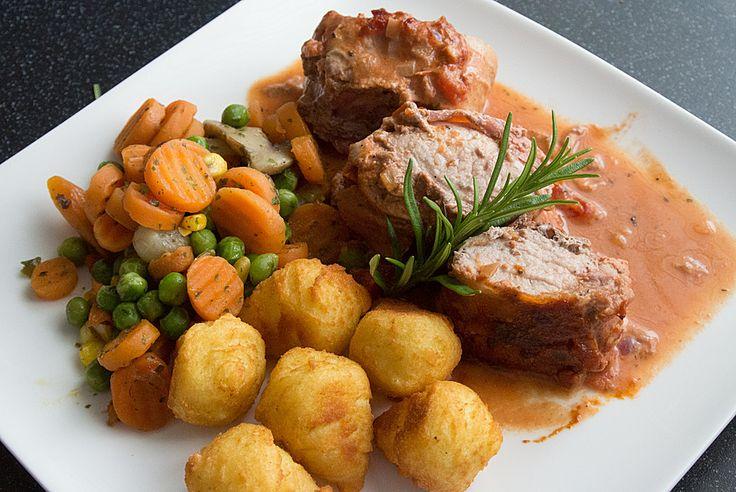 Chefkoch.de Rezept: Italienisches Schweinefilet à la Nonna