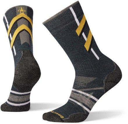 Smartwool Men's PhD Nordic Medium Pattern Socks Everglade L